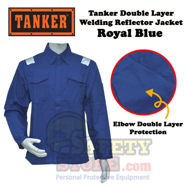 Tanker Double Layer Welding Jacket (Royal Blue)