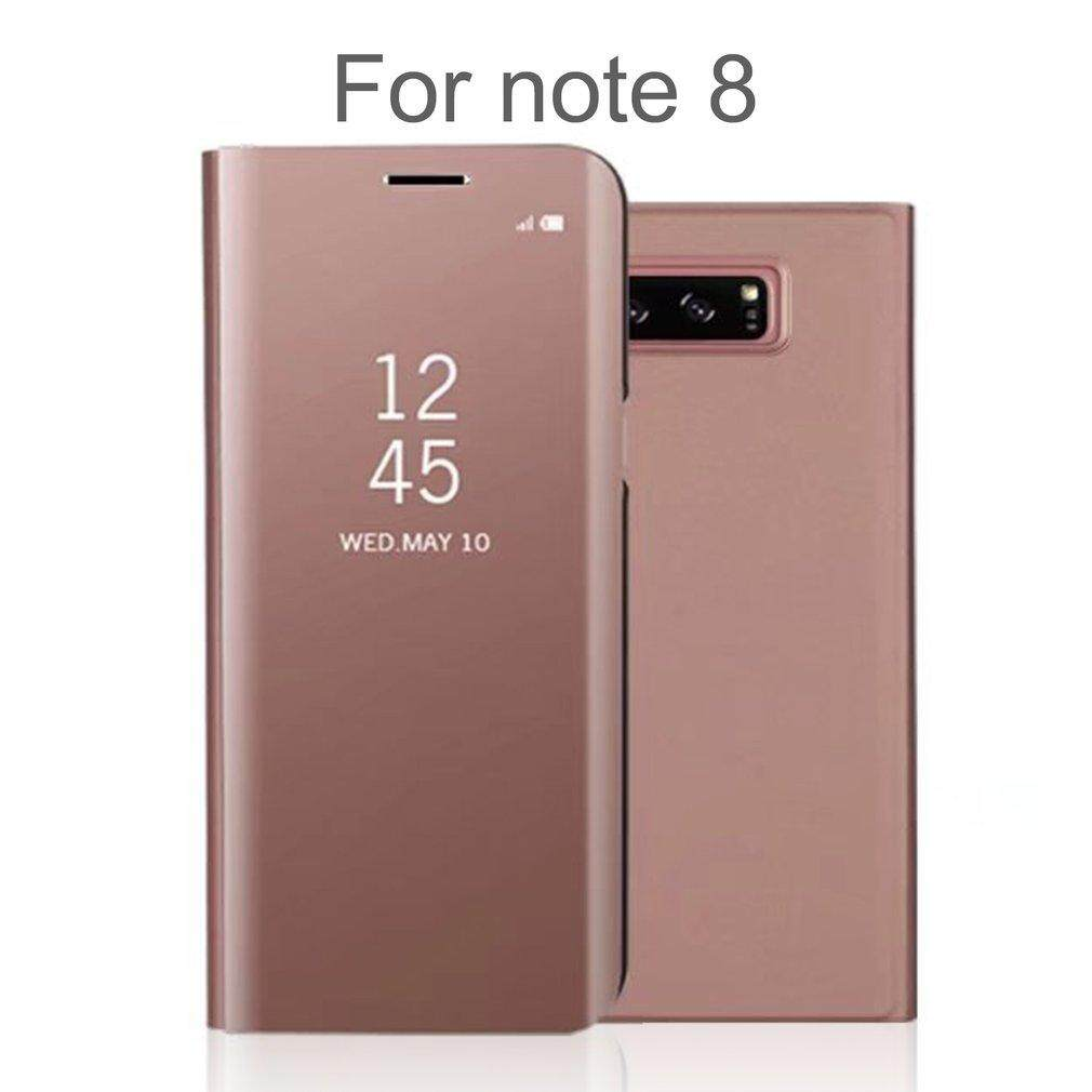 Allwin Smart Mirror PU Leather Flip Type 360 Degree Cover Suitable for Samsung Note 8