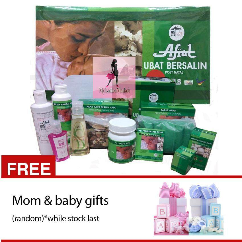 Set Bersalin Afiat Original+ Free Gifts Mom & Baby By My Ladies Market.