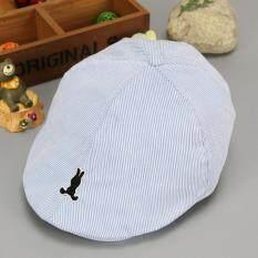 Dễ thương Sọc Kids Cho Bé Mũ nồi Cotton Bé Trai Nón Bé Gái Trẻ Sơ Sinh Trẻ Em Mùa Hè Nắng Mũ Lưỡi Trai
