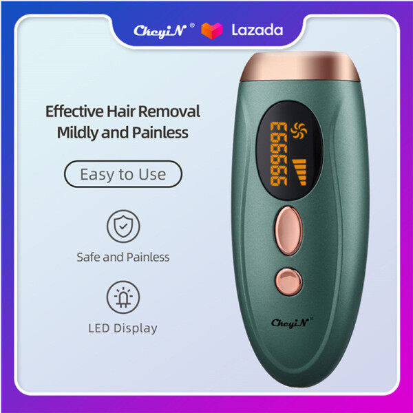 Buy CkeyiN 500,000 Flashes IPL Permanent Hair Removal Device, Professional Laser Hair Epilator, Painless Hair Remover MT098 Singapore