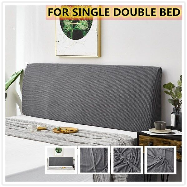Modern Bed Head Cover High Elastic Bed Headboard Cover Universal All-inclusive Bed Backrest Dustproof Spandex Cover