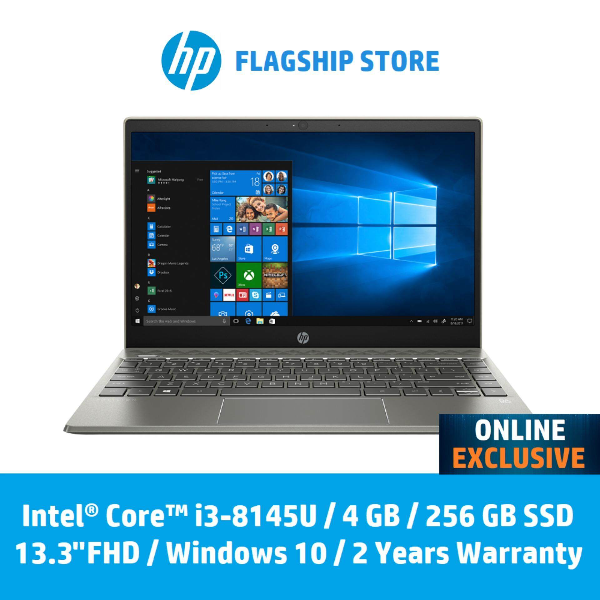 HP Pavilion 13-an0057tu Laptop **ONLINE EXCLUSIVE** [FREE Delivery & Backpack] Malaysia
