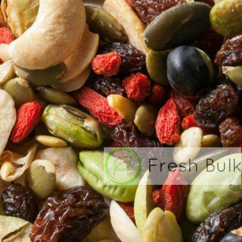 Fresh Bulk Premium Goji Berry Trail Mix (200g) / value pack mixed nuts and  dried fruit