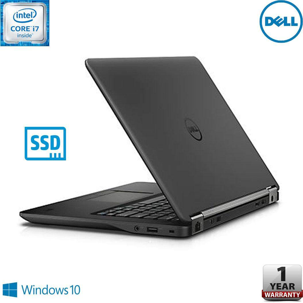DELL LATITUDE E7450 ULTRABOOK [CORE i7 5TH GEN / 8GB RAM / 512GB SSD / 1 YEAR WARRANTY / FREE BAG] Malaysia