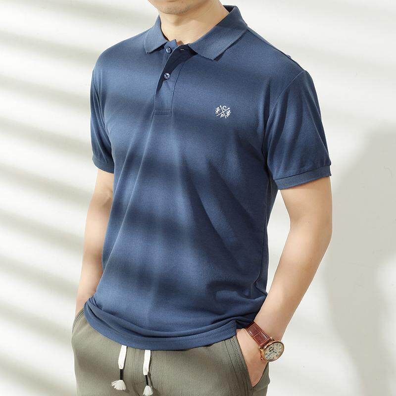 31a5a411 Big Size Collar T Shirt For Men Polo Plus Size Short Sleeve