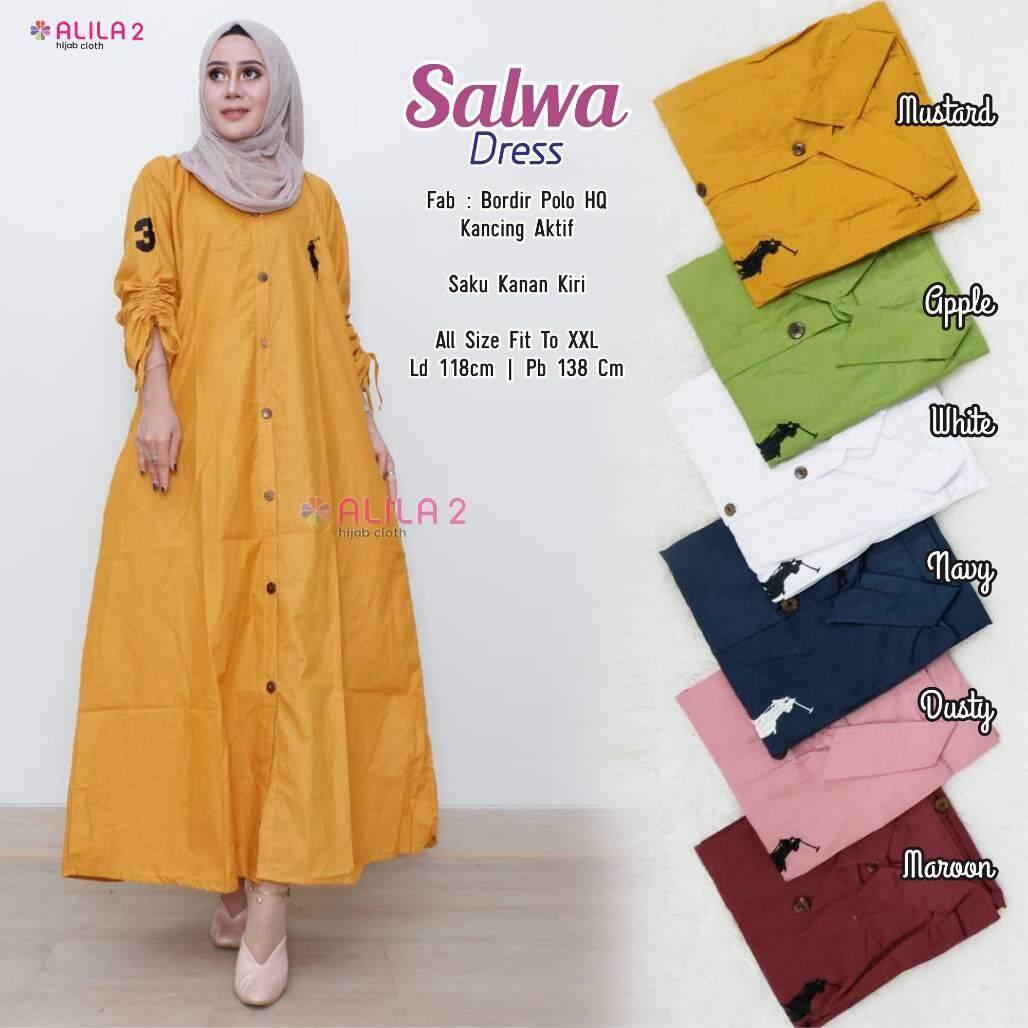 Salwa Dress Original by Alila pree order ETA 12 Hari