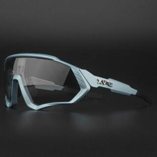 Kính Đạp Xe Thể Thao Đổi Màu Phong Cách Mới, Kính Mắt Xe Đạp Kính Đi Xe Đạp Leo Núi, Kính Râm Đi Đường Phân Cực MTB UV400 thumbnail