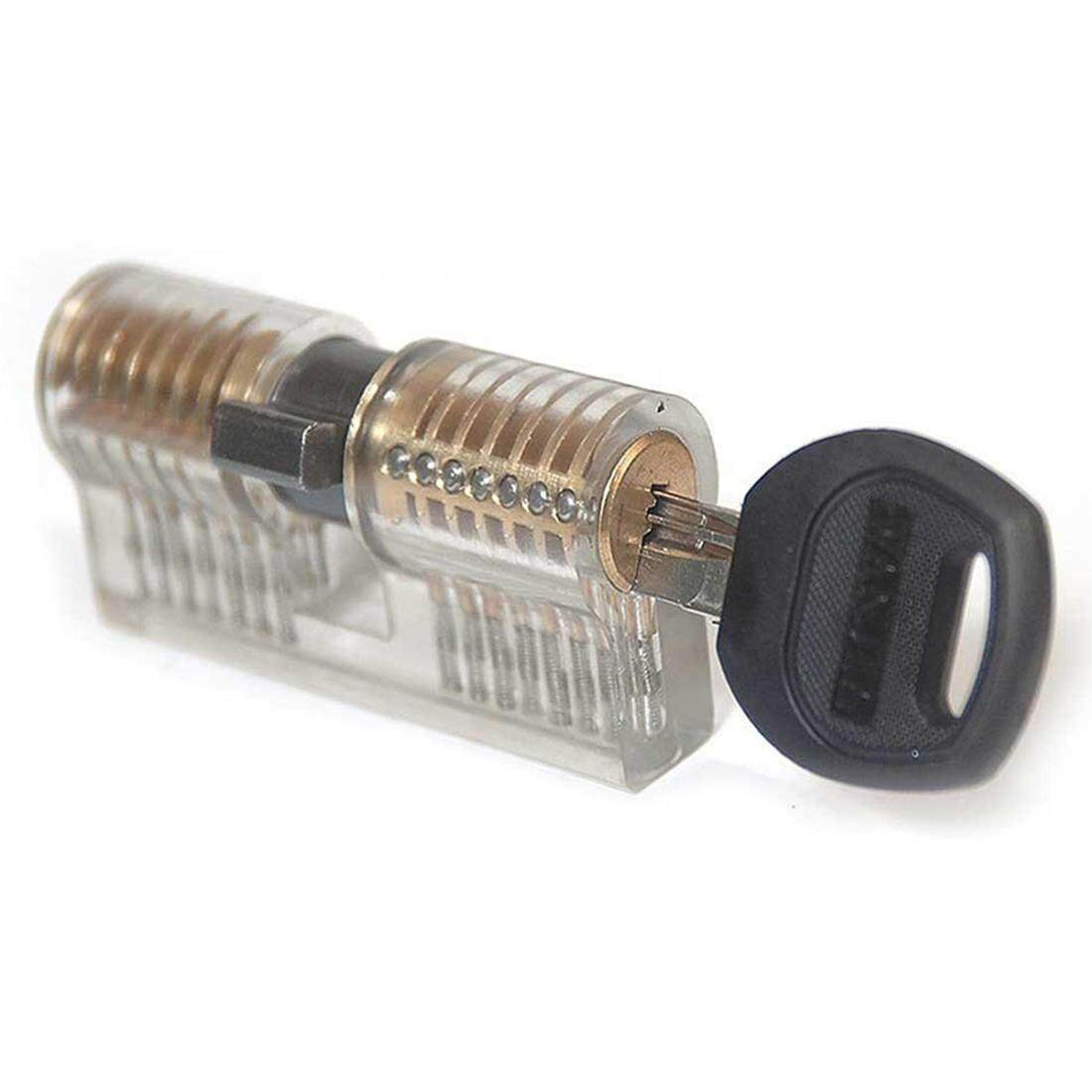 Transparent Cutaway Lock Inside View Practice Training Skill For Locksmith