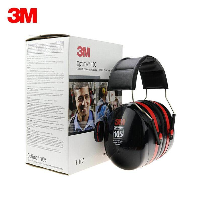 3M H10A Safety Protective Earmuffs Anti-noise Ear Muffs Headset NRR 30dB /SNR 35dB For Study Sleeping Work
