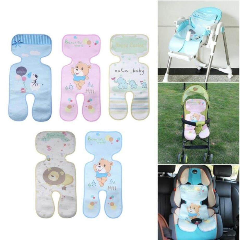 Baby Stroller Ice Silk Mat Car Seat Cushion Newborn Infants Cart Diaper Pad Cover Summer Breathable Cool Prams Pushchairs