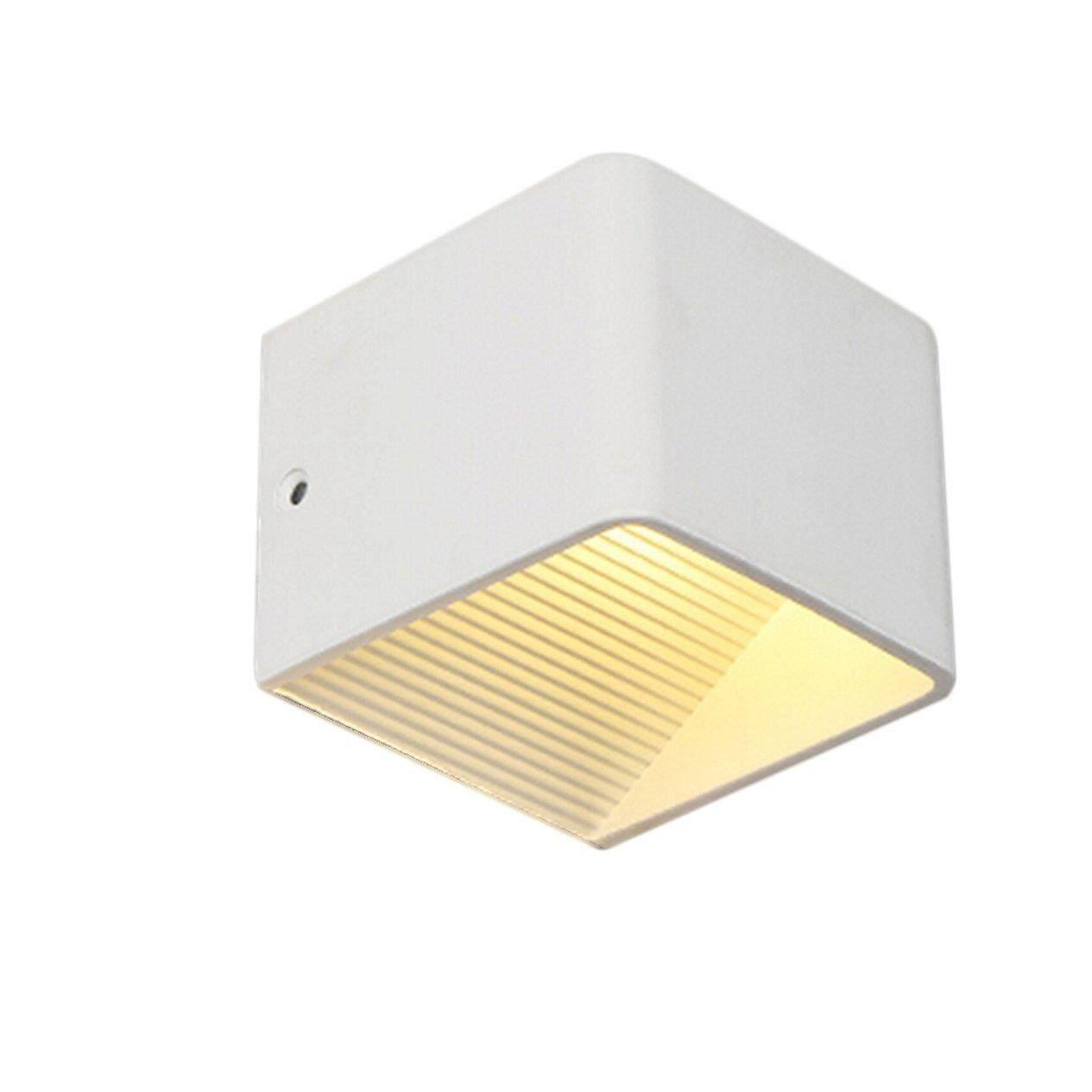 Hot Sellers OTP-CFX100-5W square COB wall lamp warm light LED aluminum wall lamp