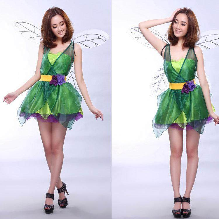 Halloween Flower Fairy Butterfly Dress Game Costume Halloween Cosplay Makeup Party Play Costume