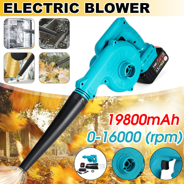 198Vf Cordless Vacuum Blower Clean Air Blower Garden Leaves Dust Collector Power Tool Vacuum Cleaner For Makita