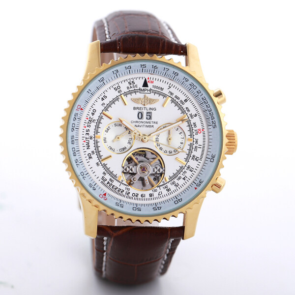 High Quality Original Breitlings Watch Superocean Heritage Chronograph Fashion Mechanical Waterproof Leather Watch Malaysia