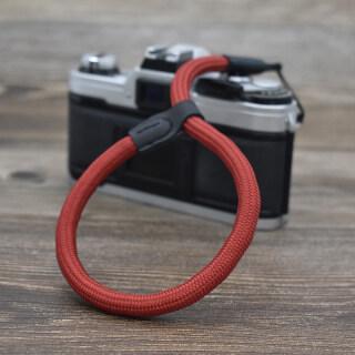 Dây Đeo Cổ Tay Máy Ảnh Dây Thừng Cầm Tay Dây Đeo Cổ Tay Máy Ảnh Đơn Siêu Nhỏ Phù Hợp Với SONY A7m3 Canon M6 Dây Đeo Cổ Tay Di Động Leica Polaroid Fuji Mountain Xt3 Phụ Kiện DSLR Dây Treo Chống Lạc Di Động, Hợp Đồng thumbnail