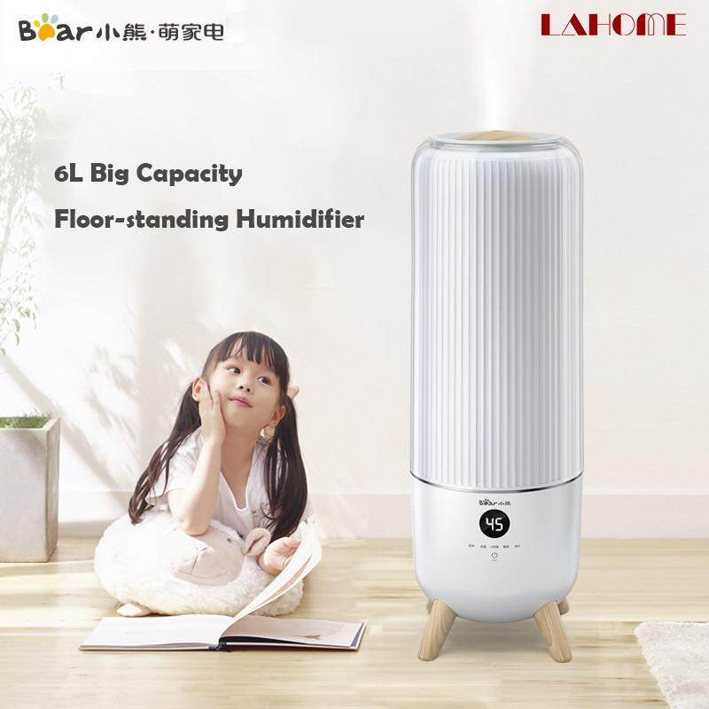 Bear Home Humidifier For Pregnant Women Baby Large Capacity Silent Uv Sterilization With Remote Control 6L Singapore