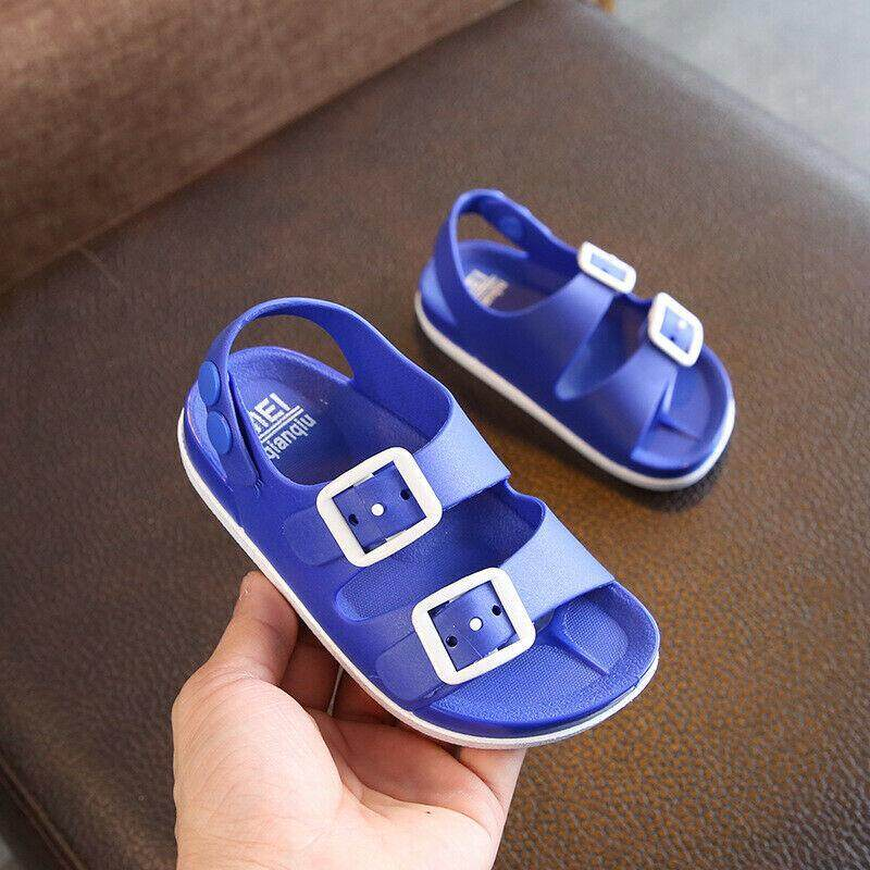 New Toddlers Kids Shoes Sandals Boys Sandals Shoes Slip on Beach Shoes