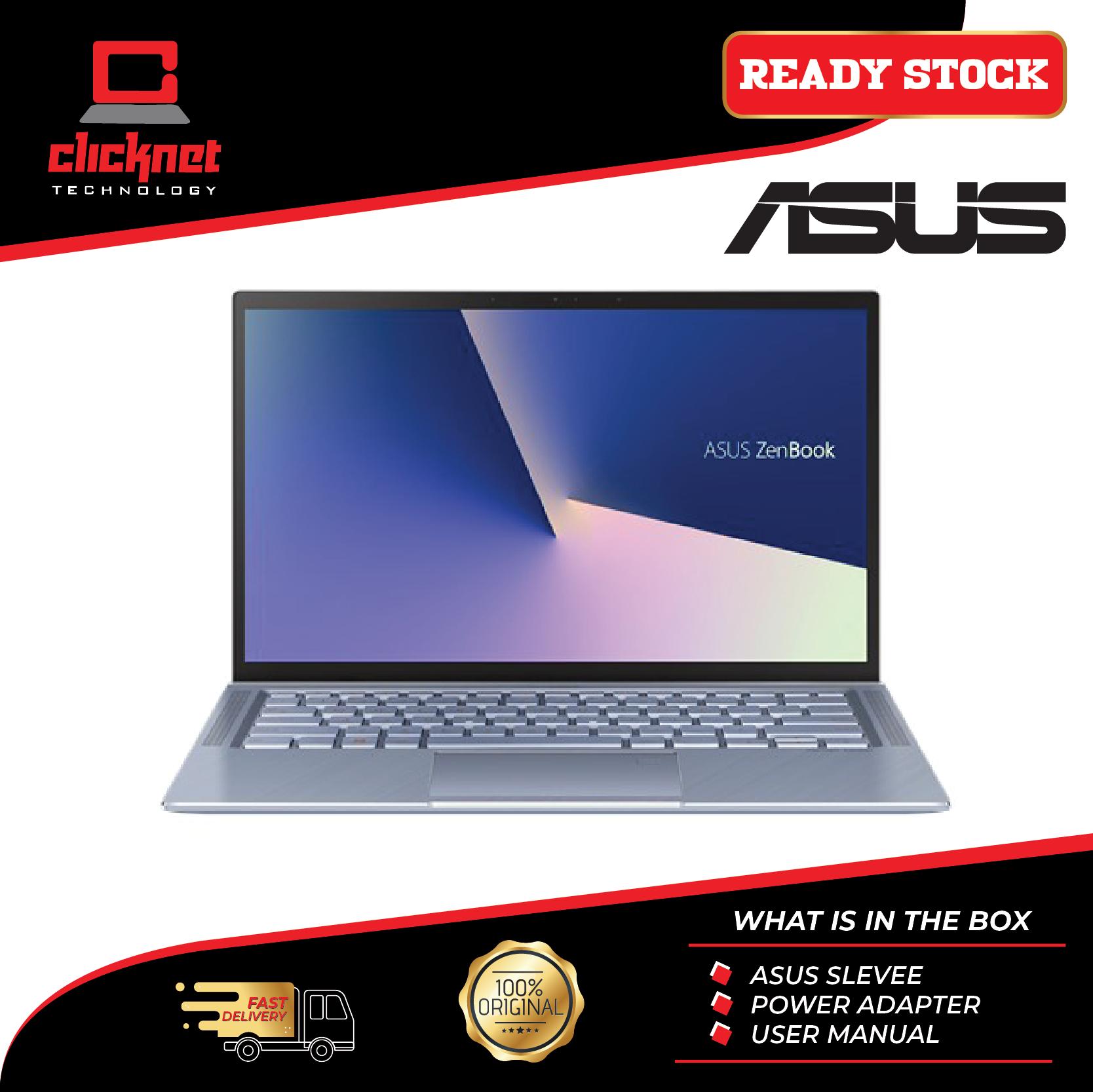 Asus Laptop Zenbook UM431D-AAM071T 14  FHD Blue (Ryzen 5-3500U, 8GB, 512GB SSD, ATI, W10) Malaysia