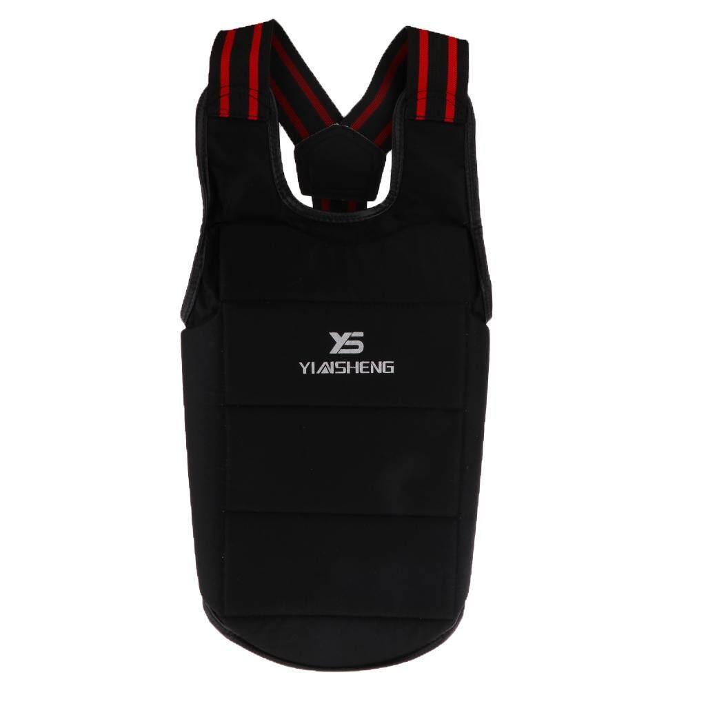 Unisex Karate Chest Guard Body Shield Boxing Taekwondo Chest Protector XL