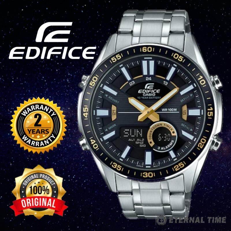 (2 YEARS WARRANTY) CASIO ORIGINAL EDIFICE EFV-C100D-1AV CHRONOGRAPH MENS WATCH (EFV-C100D) JAM TANGAN LELAKI Malaysia