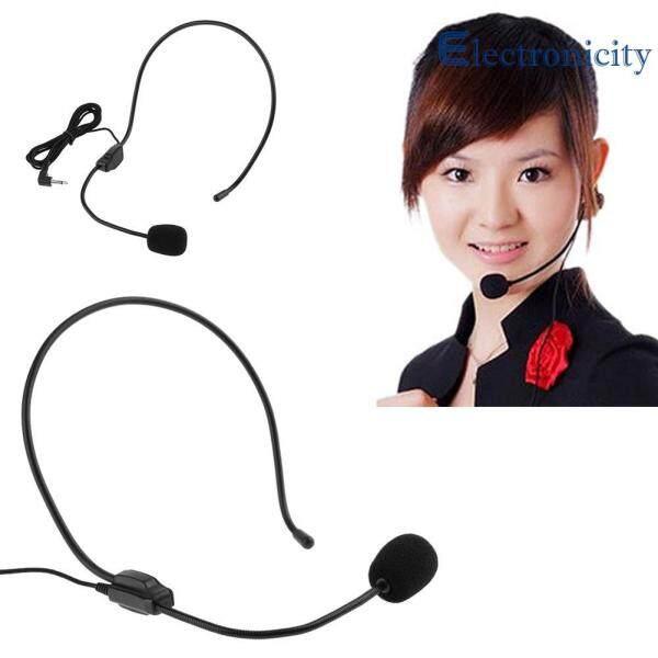 Lightweight Wired Class Presentation Amplifier Speaker Microphone Headset Singapore