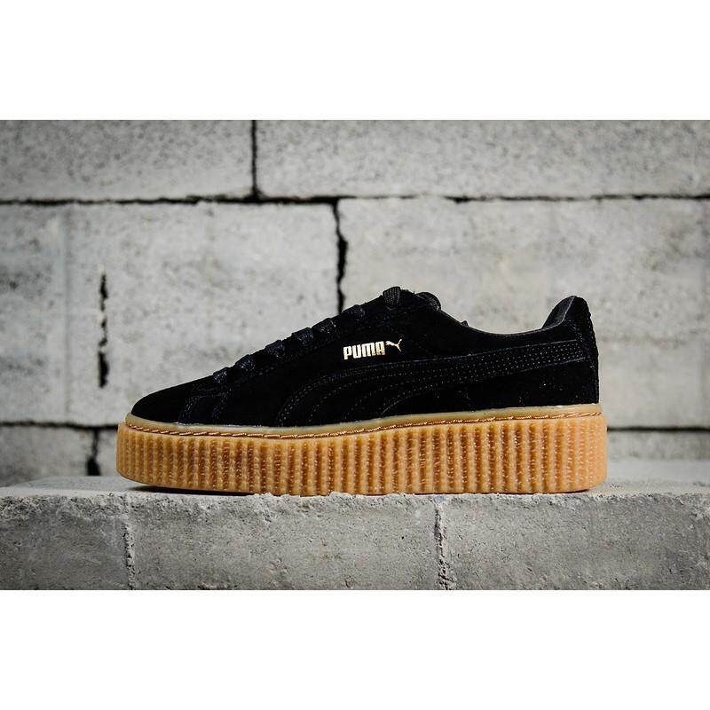 new product ff48b 6cfa2 Puma FENTY Suede Cleated Creeper Inspired Fashion Sale Shoes