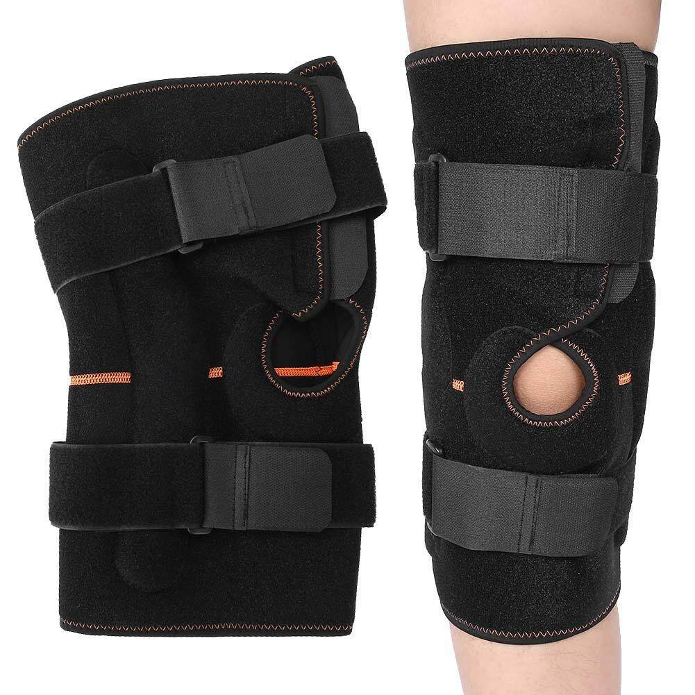 Breathable Sports Knee Pads Shock Absorbing Shinguards Hiking Running Knee Support Brace