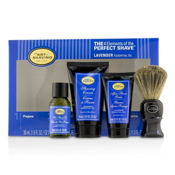 Buy THE ART OF SHAVING - The 4 Elements of the Perfect Shave Mid-Size Kit - Lavender 4pcs Singapore
