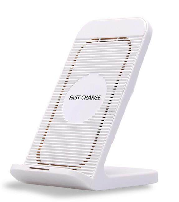 New 10w Fast Wireless Charger Cooling Fan Charge Stand Apple 7.5w Wireless Quick Charge Holder For Iphone Samsung By Face To Face.