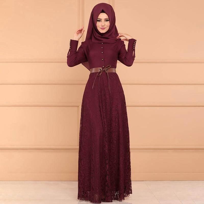 90f86120a0 Women Maxi Dress Baju Raya Muslim Wear Jubah Muslimah Kurung