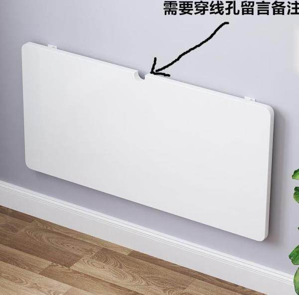 Fixed Wall Folding Table Wall Wall Hanging Hanging Shelf Bedside Desk Bookstand Retractable Hanging.