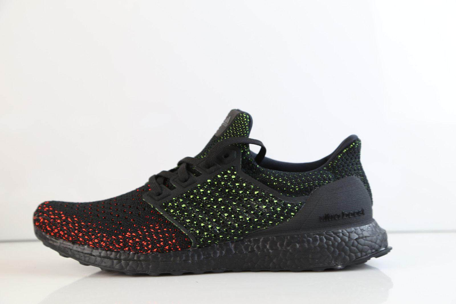 100% authentic 30b8a b9b3b Adidas_Original Ultra Boost Clima Cool Glow Solar Red AQ0482 Ultraboost  Running Shoes