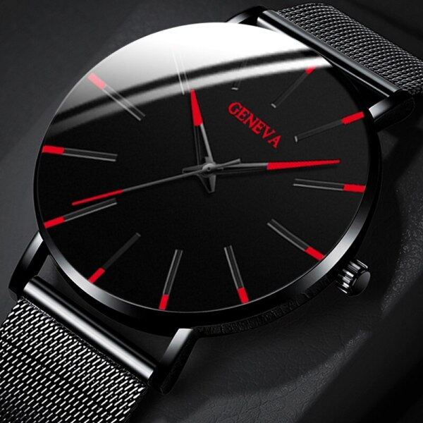Jam POSHI Fashion mens watches Stainless Steel Calendar Quartz Wrist Watches For Men Chronograph automatic Date Sports Waterproof Watch Malaysia