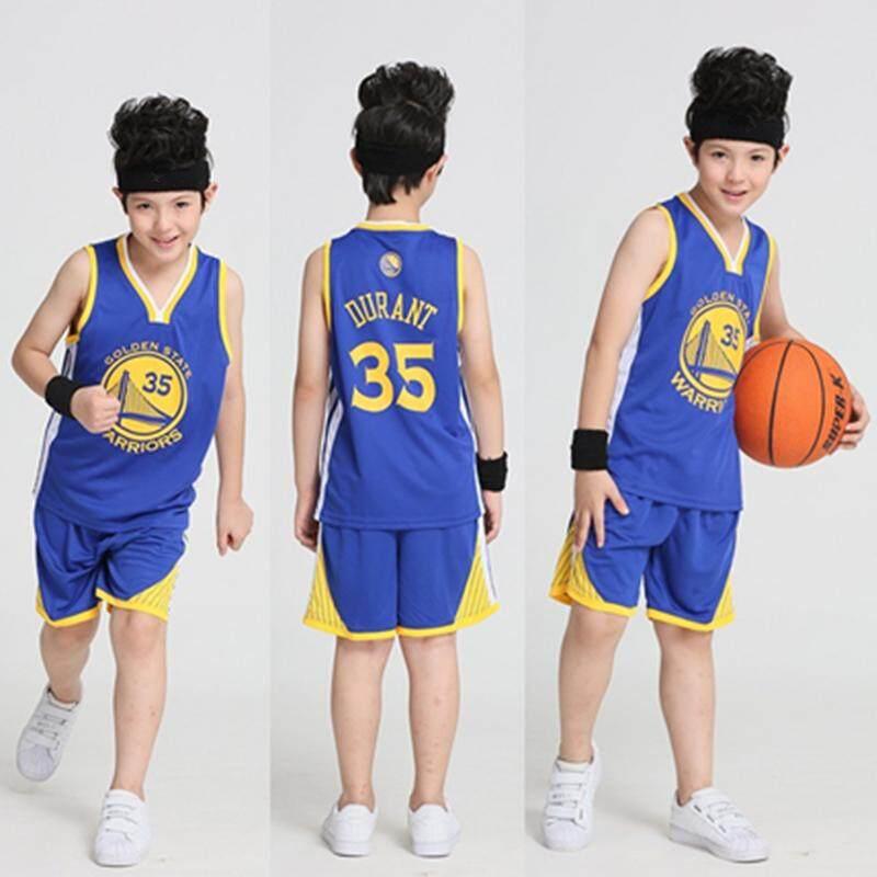 cheaper cdf06 ad495 Kit Basketball Jersey & Short Kids Basketball Jerseys Set Team Uniforms  SportsKit Children Sportswear