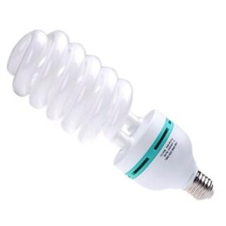 E27 220V 135W 5500K daylight bulb Photo Studio Light Video Photography Lamp thumbnail