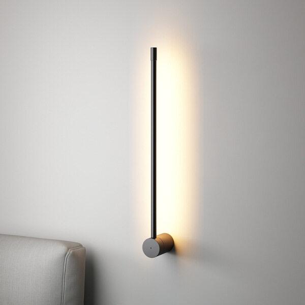 QUKAU led Nordic minimalist 60CM height creative lamp wall lamp modern minimalist wall lighting hotel bedroom bedside lamp