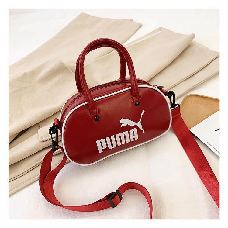 Original_PUMA 2019 autumn new men and women casual shoulder bag leather bag Messenger bag handbag