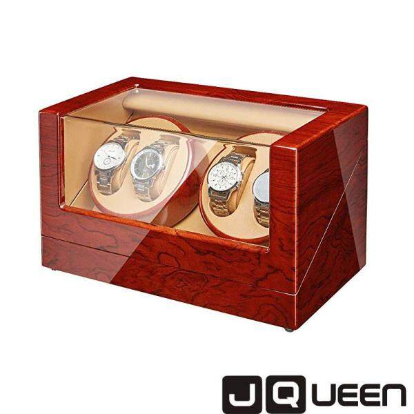 JQUEEN Automatic Quad Watch Winder with Double Quiet Mabuchi Motors Malaysia