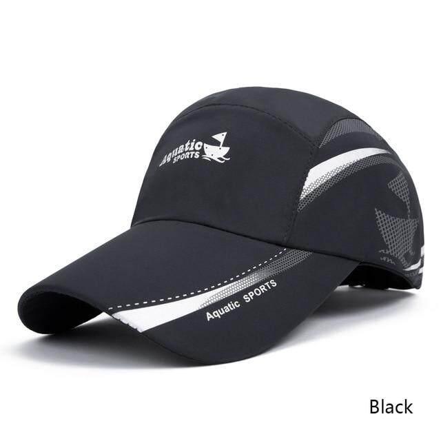 7ded133dc Evrfelan 2019 New Arrival Men Women Sport Baseball Cap Unisex Breathable  Hat Outdoor Running Visor Quick Drying Cap Female bone