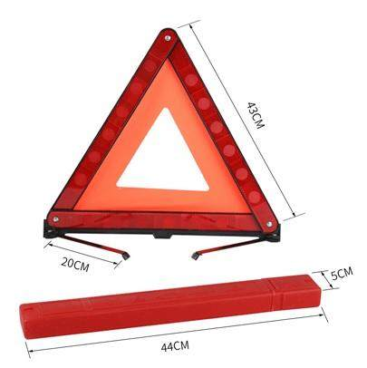 [GRAB DRIVER EXCLUSIVE] Safety Standard Reflective Warning Triangle