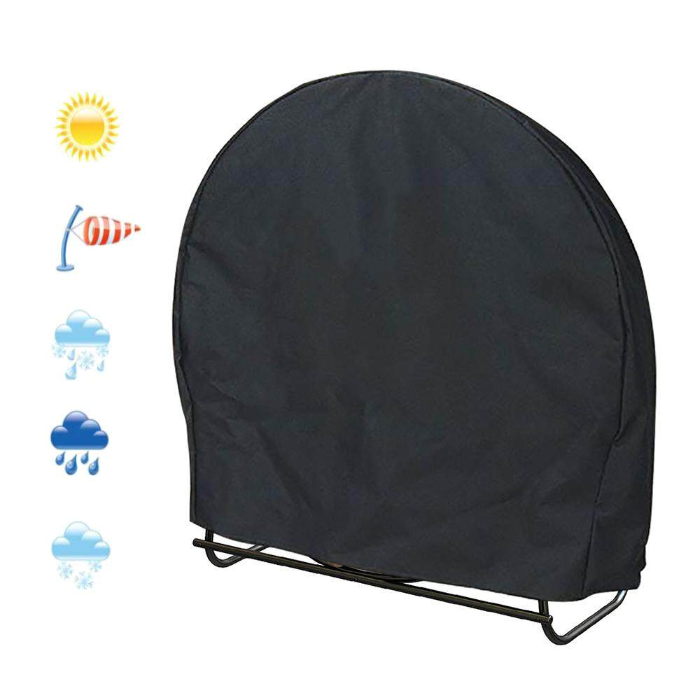 Wood Stove Rack Sunshade Rainproof Furniture Cover Waterproof Outdoor Furniture Round