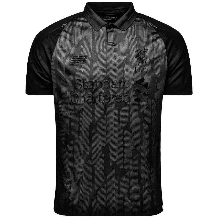 0748f75c4ba Liverpool  Home Jersey Blackout 2018 19 Elite LIMITED EDITION for Men EPL