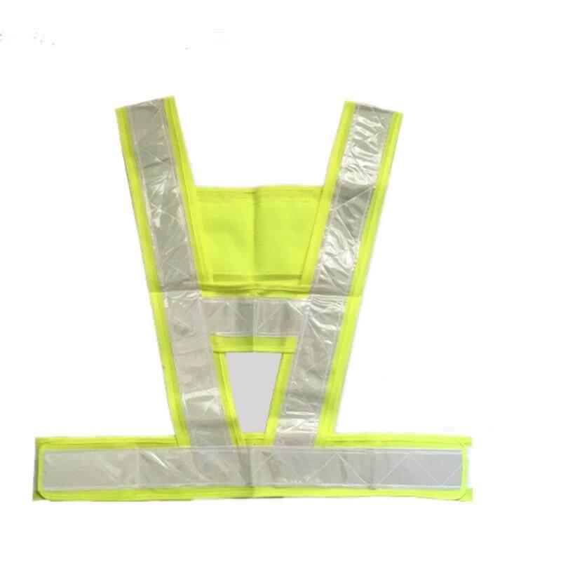 25PCS Waistcoat reflective V-Shaped Seflective Safety Vest for Traffic Light-reflecting Overalls High Visibility