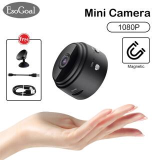 Camera Mini EsoGoal Camera WiFi 1080P Máy Ảnh Từ Tính Gia Dụng Ngoài Trời, Máy Ghi Âm Giám Sát Video Siêu Nhỏ Phiên Bản Ban Đêm HD Camera Không Dây Máy Quay Mini Hỗ Trợ Thẻ TF 64G thumbnail
