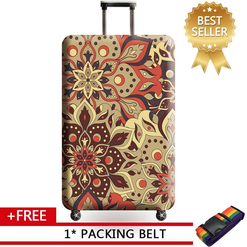 79966f0da401 JOHNN 18/20/22/24/25/28/29/32 inch Luggage protectors Travel case cover  thick wear-resistant case cover dust cover thick air layer【READY STOCK -  High ...