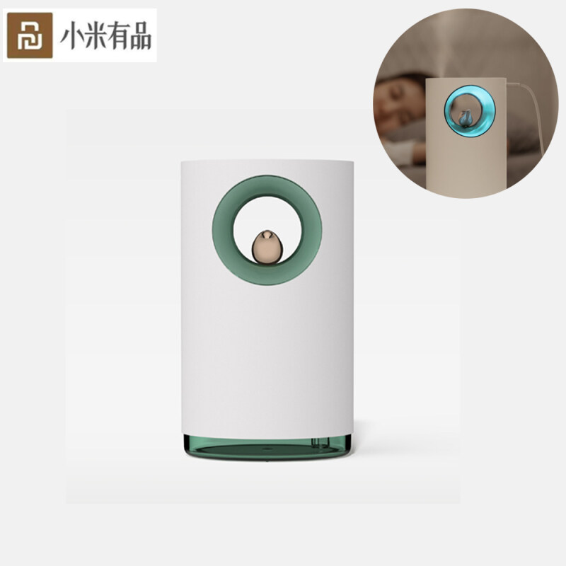 Xiaomi Ecological Chain Urallife Bird Song Music Humidifier Mini Cute Bird Humidifier Large Capacity Spray Night Light Office Decompression Background Music Humidifier With Breathing Ambient lamp For Office Home Baby