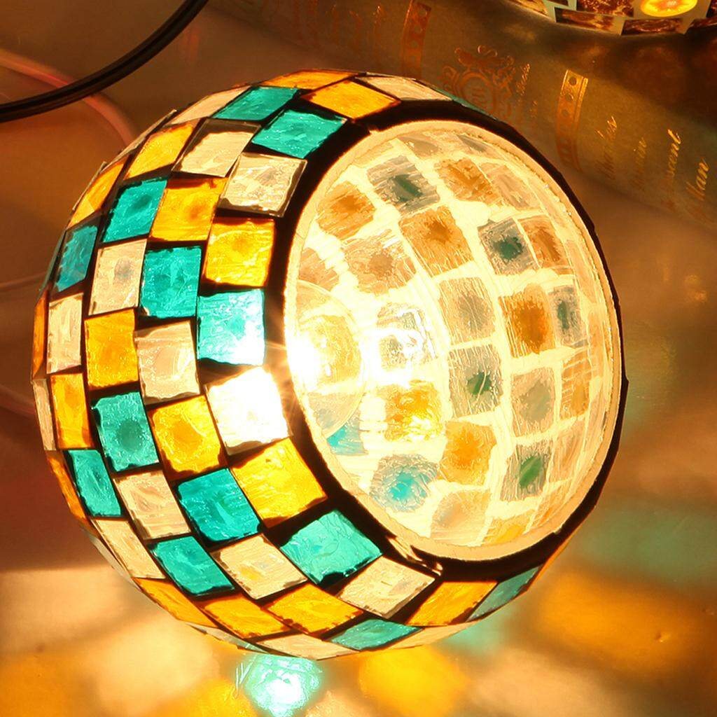 Loviver Bar Cafe Restaurant Pendant Light Cover Mosaic Style Hanging Ceiling Lamp Shade