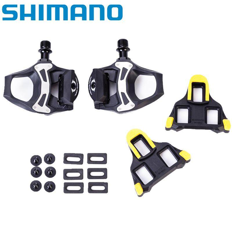Shimano 105 PD-5800 Carbon SPD-SL Road Bike Pedals 5800 Pedal w// SM-SH11 Cleats