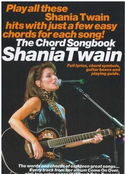 The Chord Songbook Shania Twain (25Cm X 17CM) / Music Book / Guitar Book / Guitar Chord Book / Song Book / Voice Book Malaysia